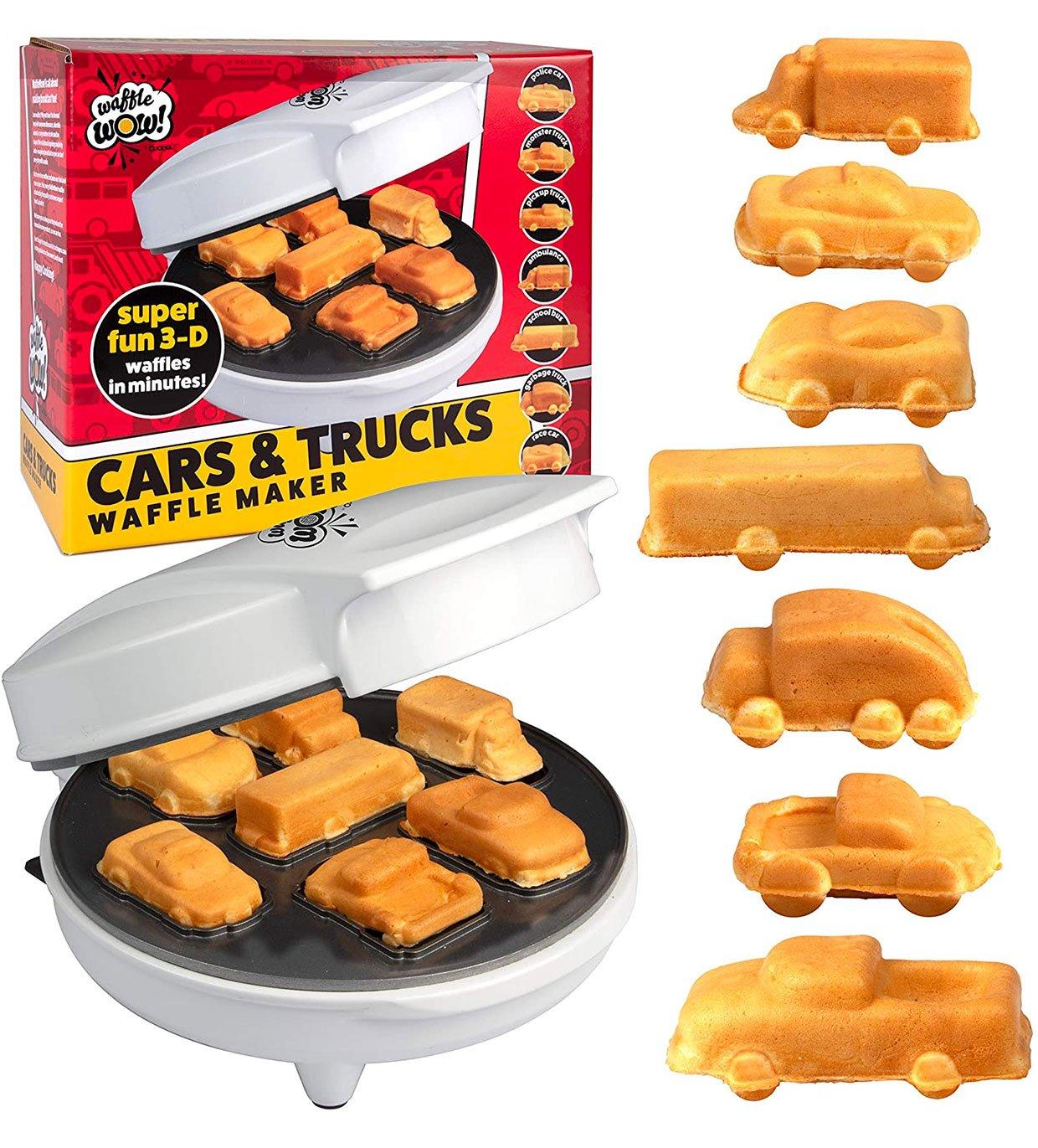 Cars & Trucks Waffle Maker