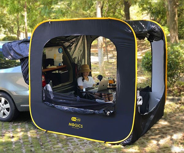 Carsule Pop-Up SUV Cabin