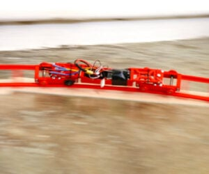 Crazy Fast Toy Train