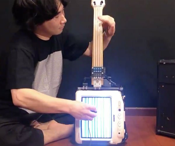 Playing a CRT Guitar
