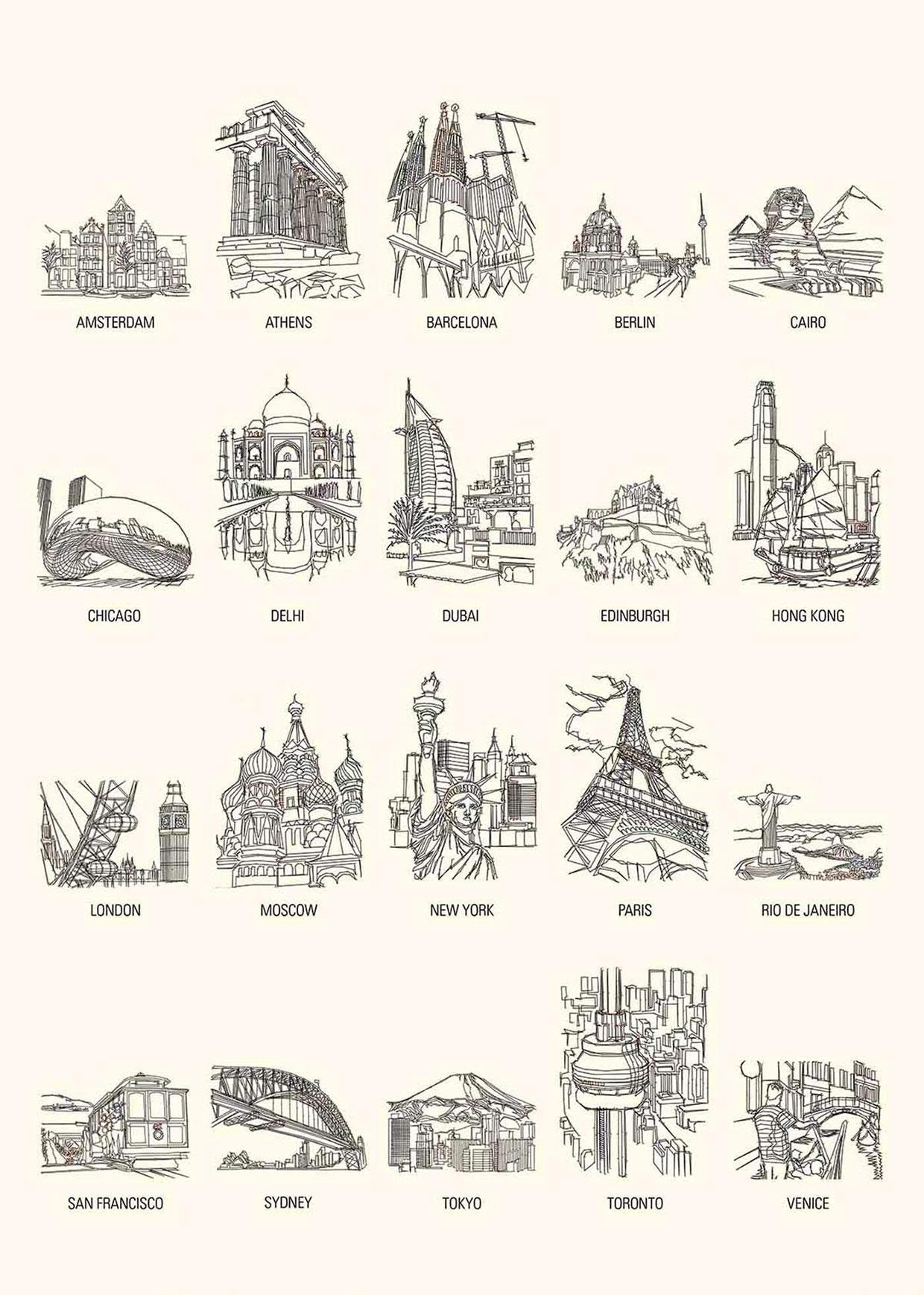 Dot-to-Dot Cities