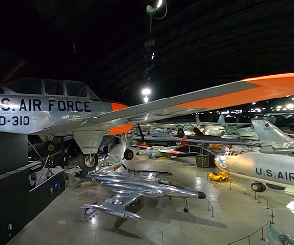 Air Force Museum Drone Tour