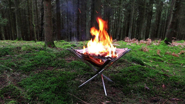 Firekorf Portable Fire Pit/Grill