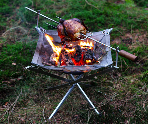 Firekorf Portable Fire Pit/Grill