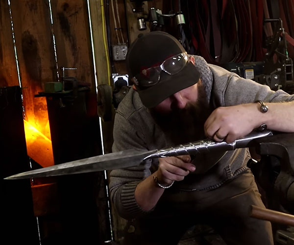 Forging a Viking Spear