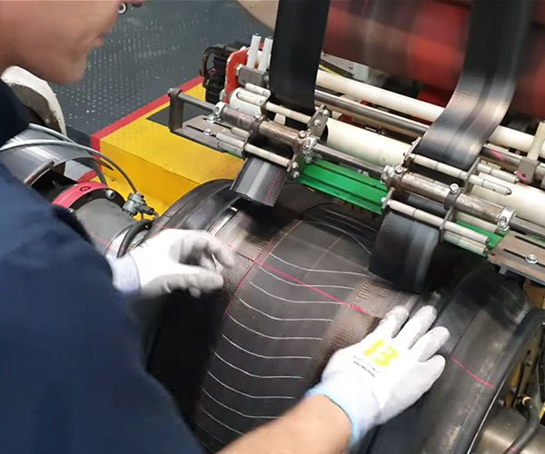 How Motorsport Tires Are Made