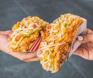 KFC Fried Chicken Tacos