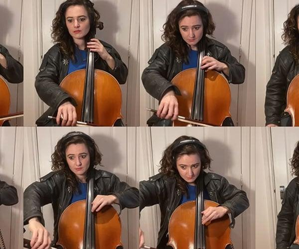 Knight Rider for 8 Cellos