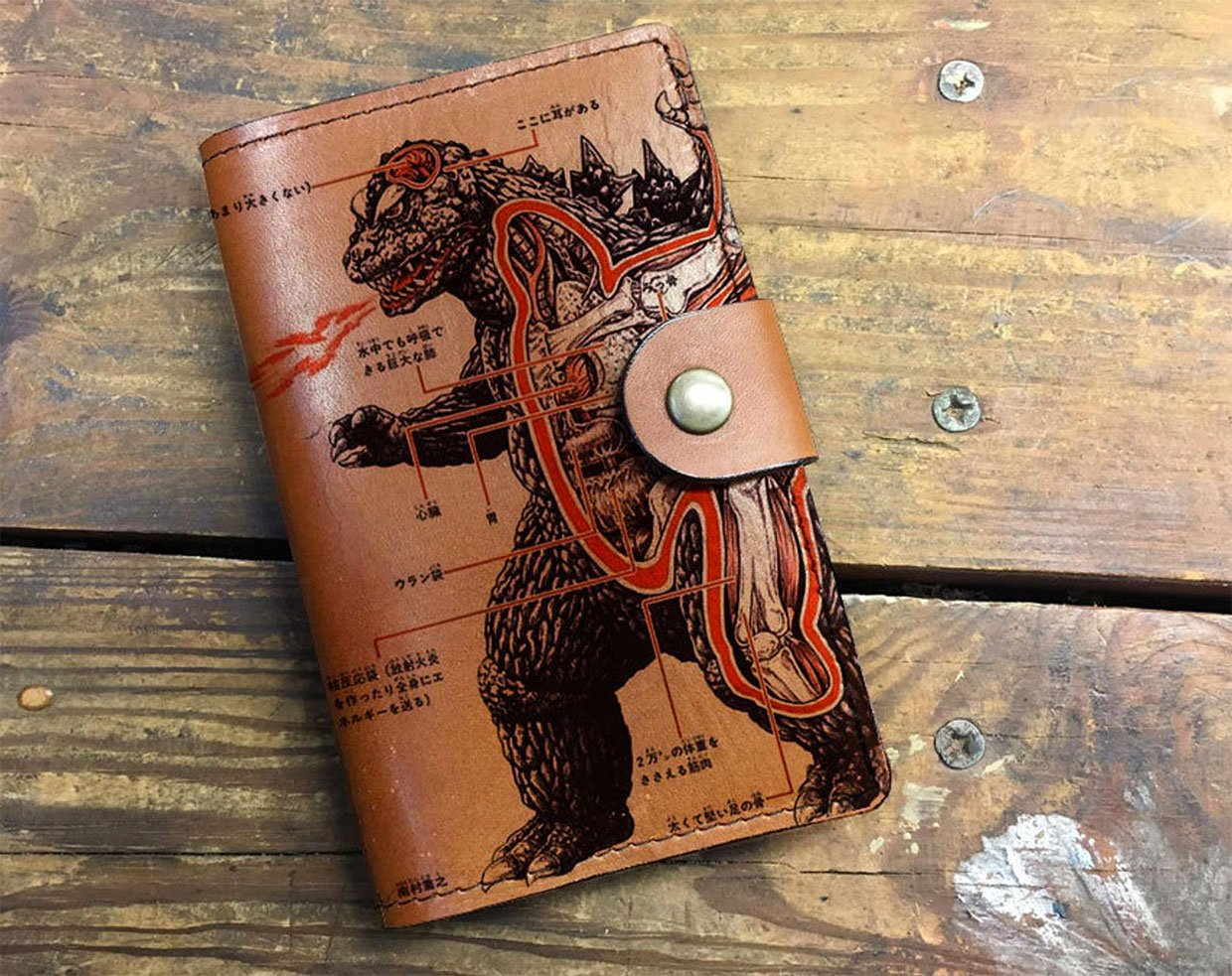 Leather Sketch Journal Covers