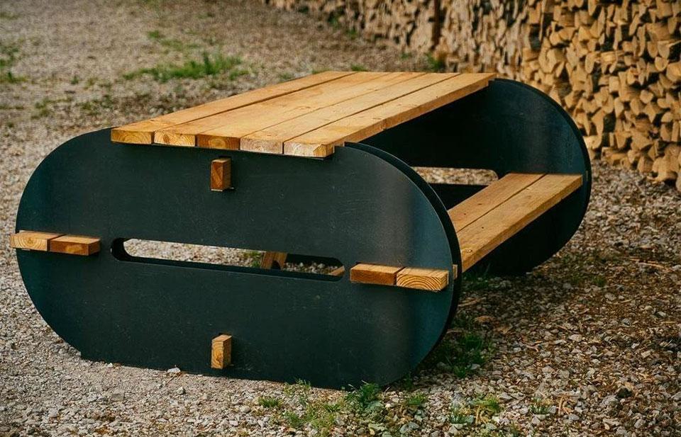 Maria DIY Picnic Table Kit