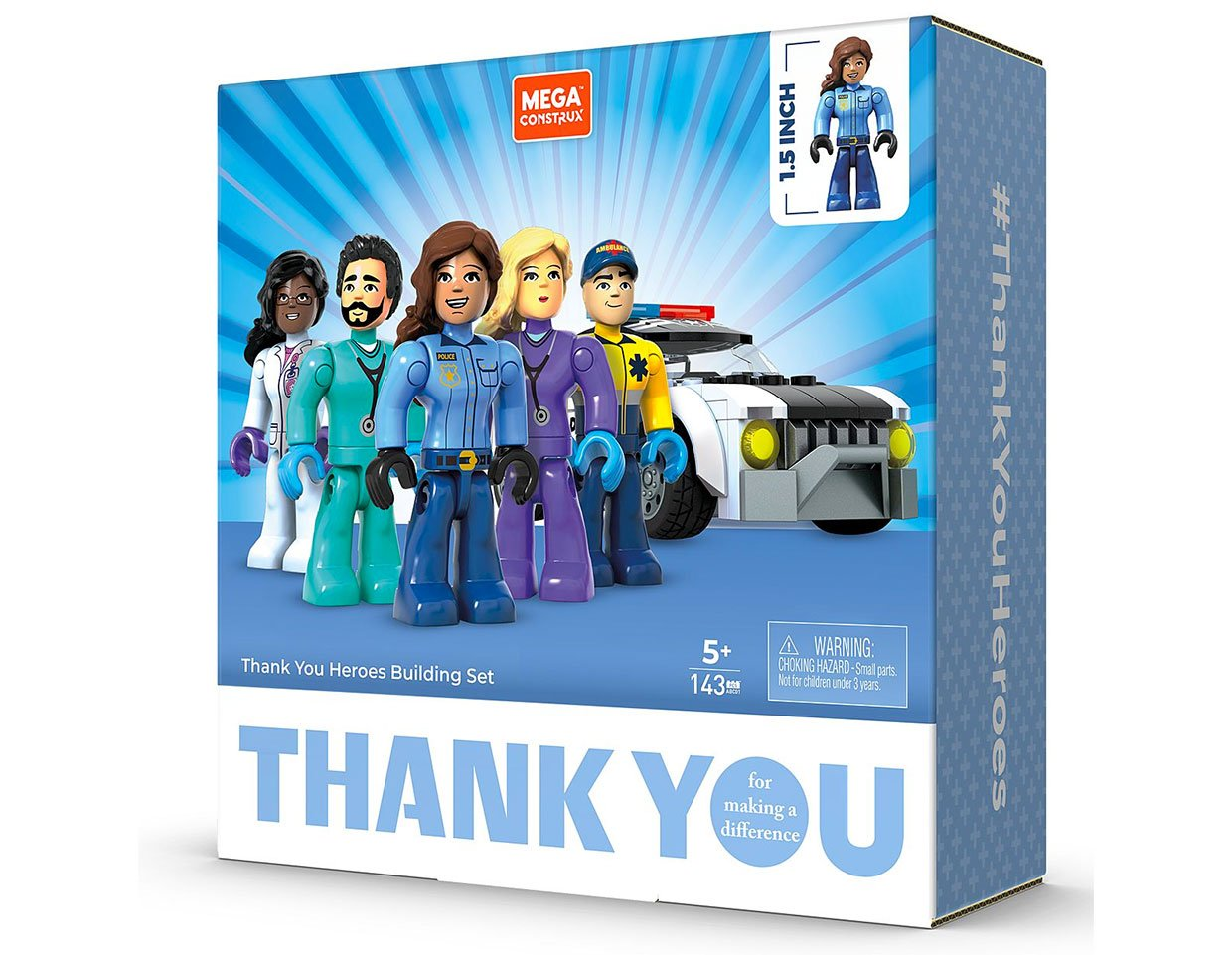 Mattel Thank You Heroes