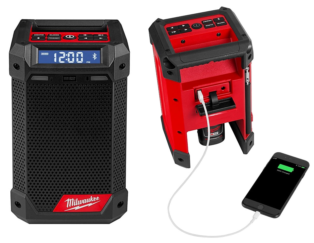 Milwaukee M12 Bluetooth Radio