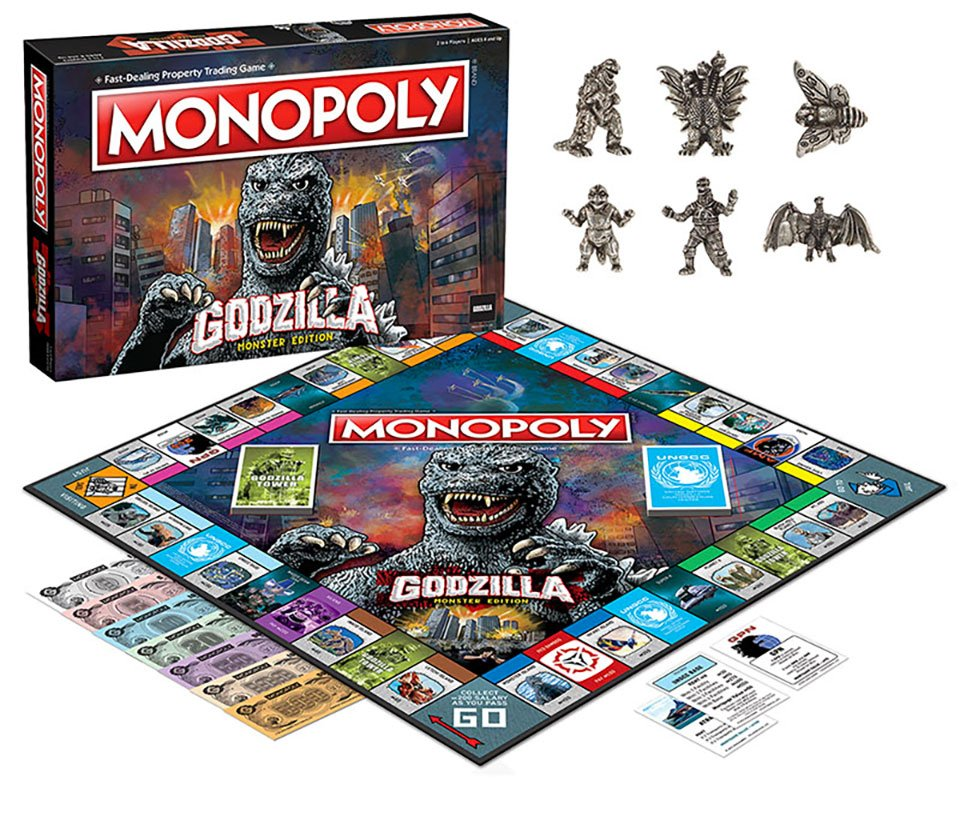 Monopoly Godzilla Monster Edition