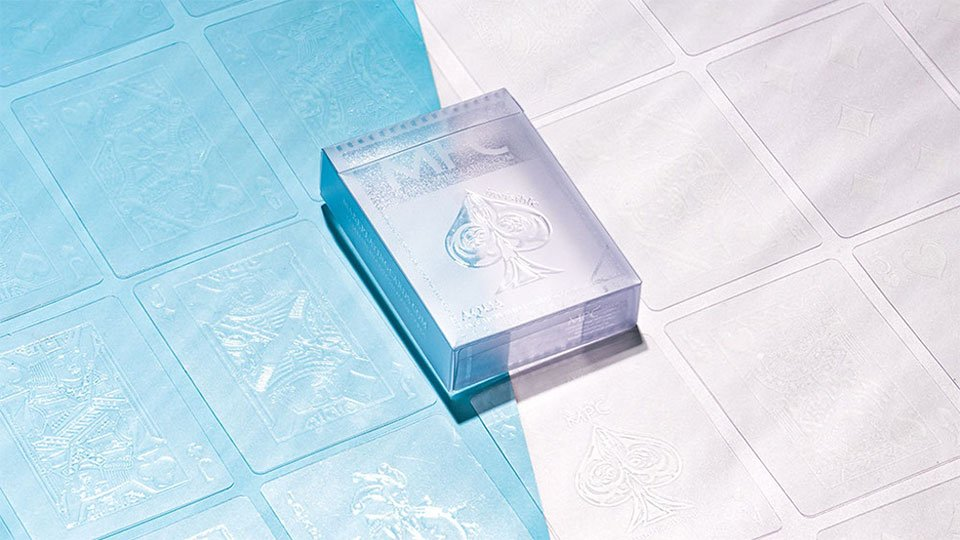 Aqua Deck Invisible Playing Cards