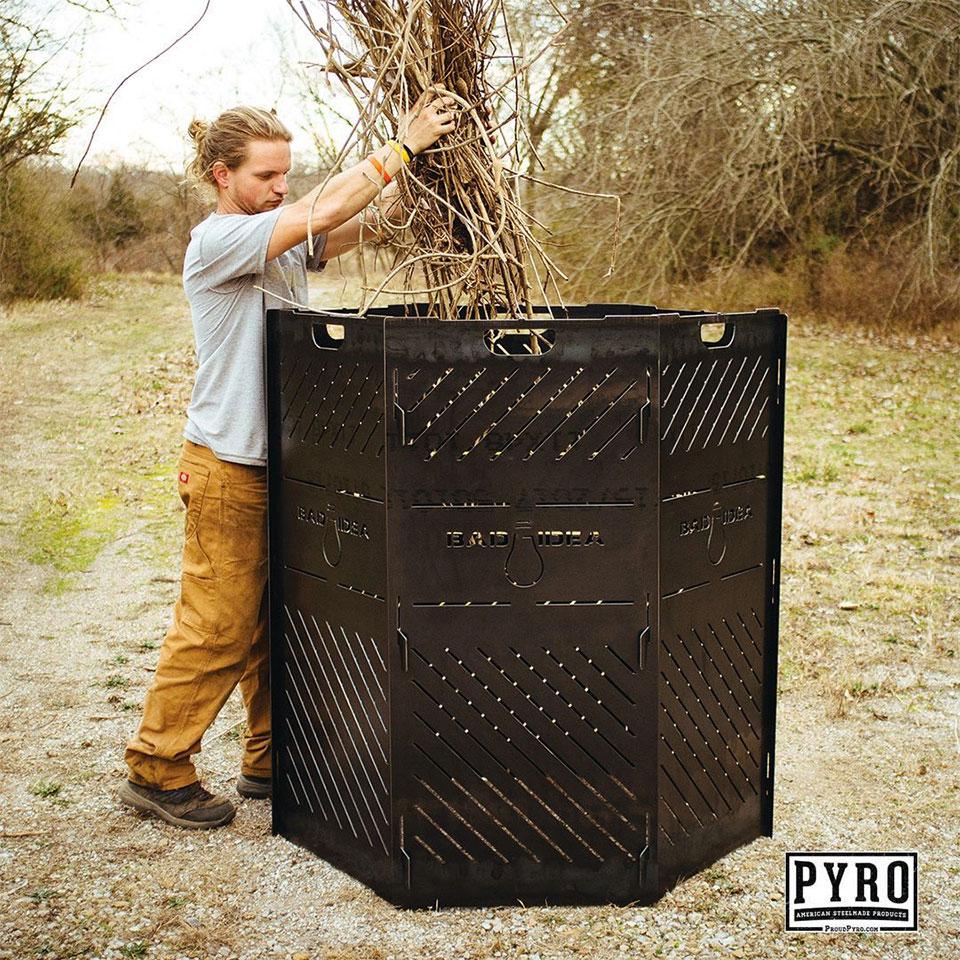 Pyro Cage Incinerators
