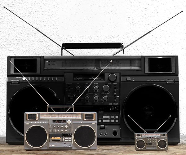 Replitronics Mini & Micro Boomboxes