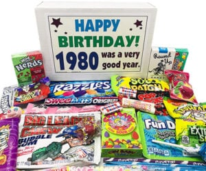 Candy Birthday Gift Boxes