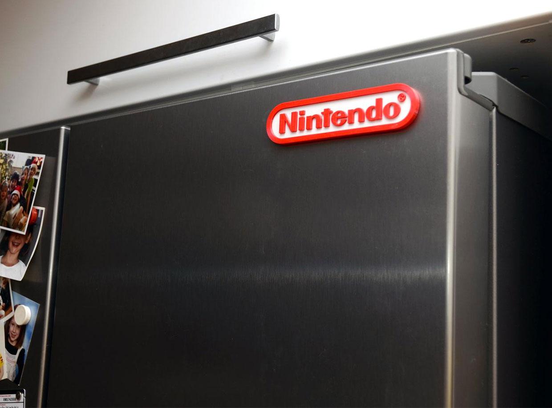 Retro Gamer Logo Magnets