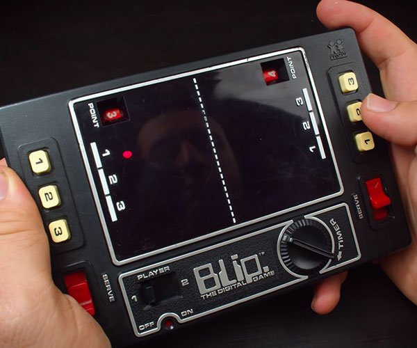 Retro Tech: Mechanical Pong