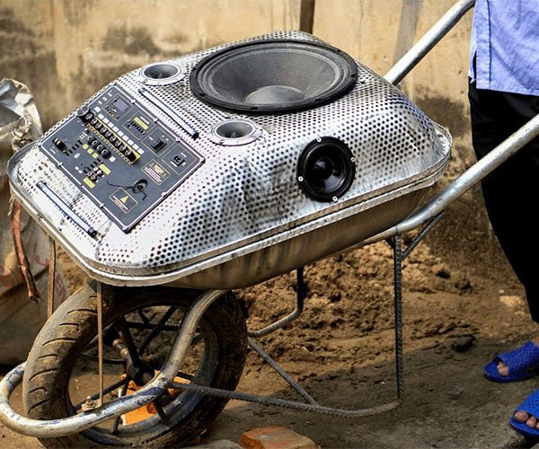 Wheelbarrow Boombox