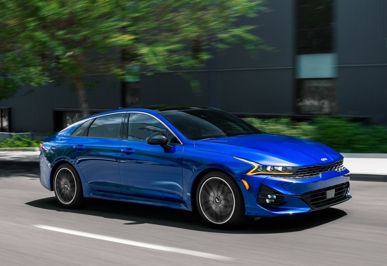 2021 Kia K5 Replaces The Optima Amps Up The Style And Power