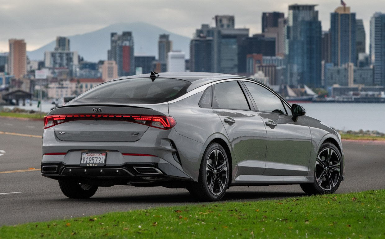 2021 Kia K5 Replaces the Optima, Amps Up the Style and Power