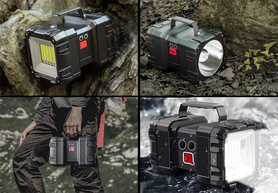 AlpsWolf Multifunction Flashlight