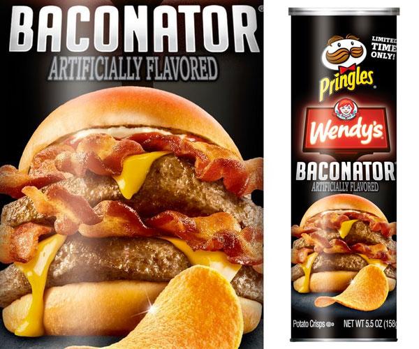 Pringles x Baconator