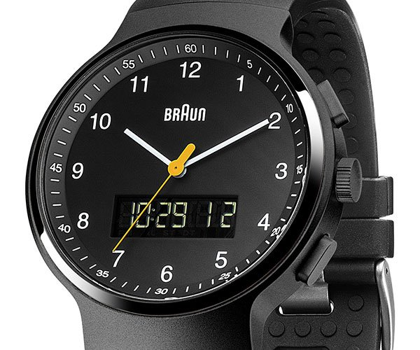 Braun Analog/Digital Watch