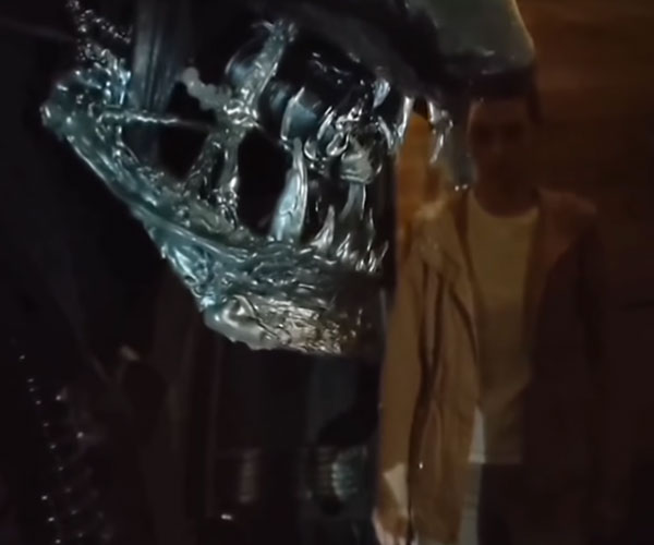 Cardboard Alien Remake