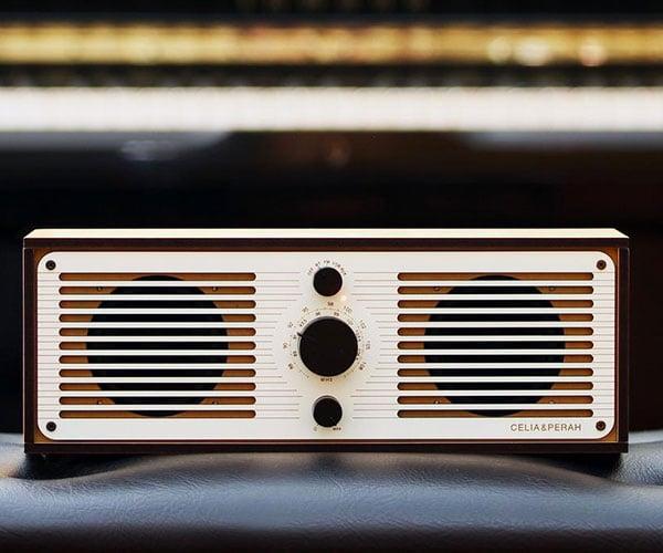 Celia & Perah R2 Bluetooth Radio
