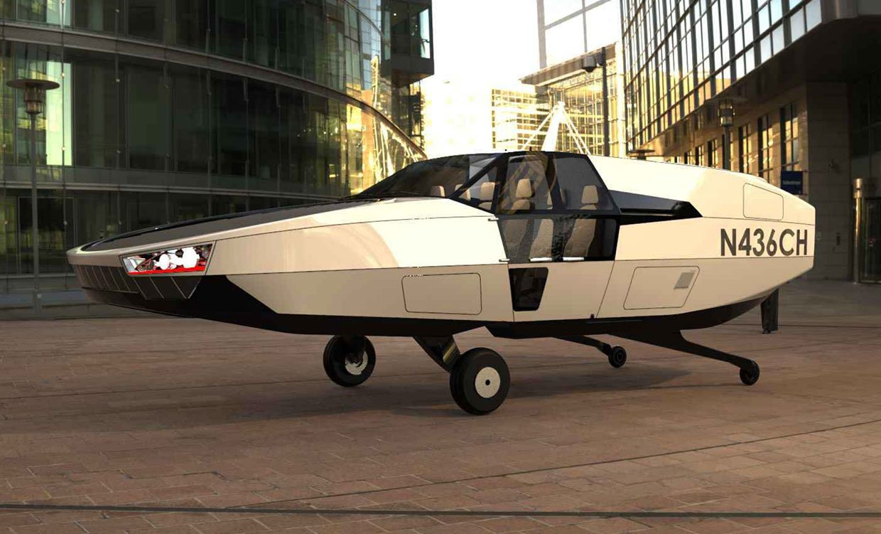 CityHawk Flying Taxi