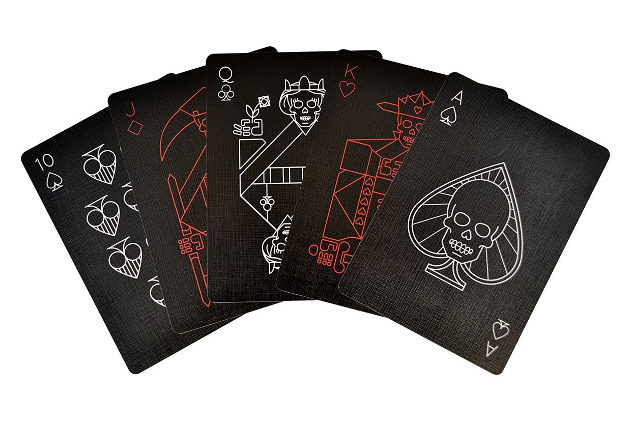 Pitch Black Playing Cards