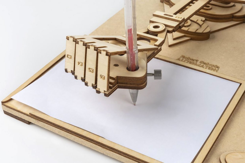 Da Vinci's Drawing Machines