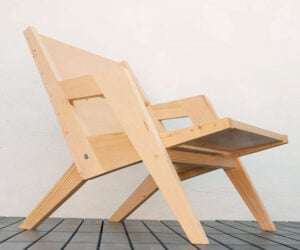 DIY Wood Folding Chair