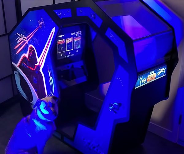 DIY Star Wars Cockpit Arcade Machine