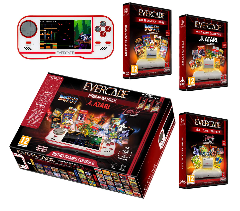 Evercade Handheld Arcade