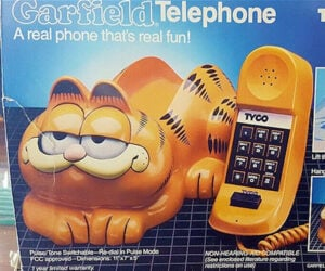 A Brief History of the Garfield Phone