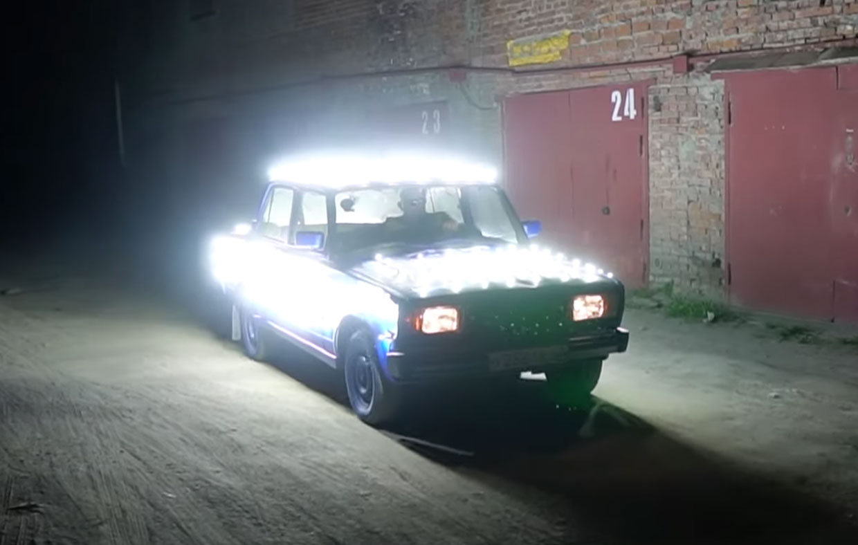 Car of Headlights