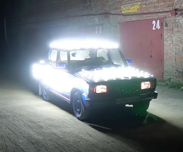 Car of Headlights