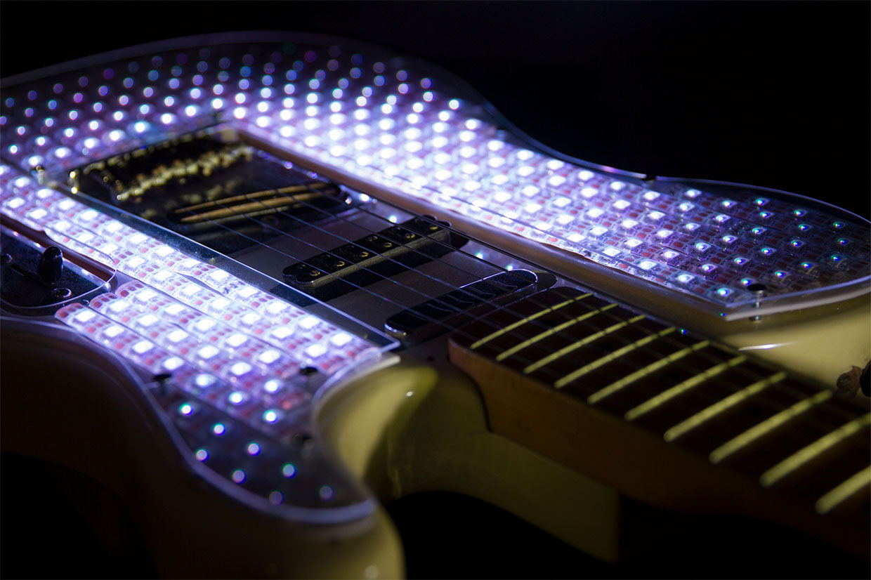 LED Electric Guitar