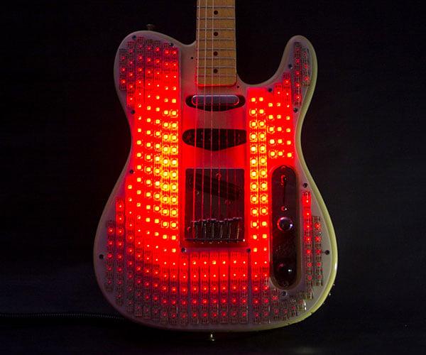 LED Electric Guitar