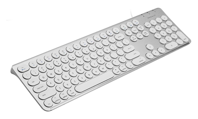 Macally Round Key Mac Keyboard