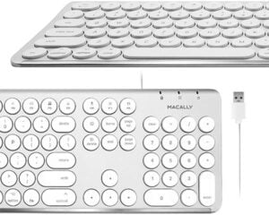 Macally Round Key Mac Keyboard
