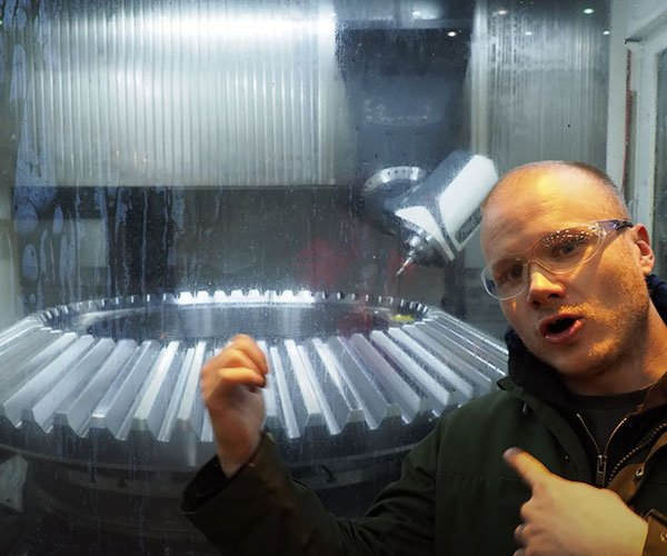 Machining a 10-Ton Gear