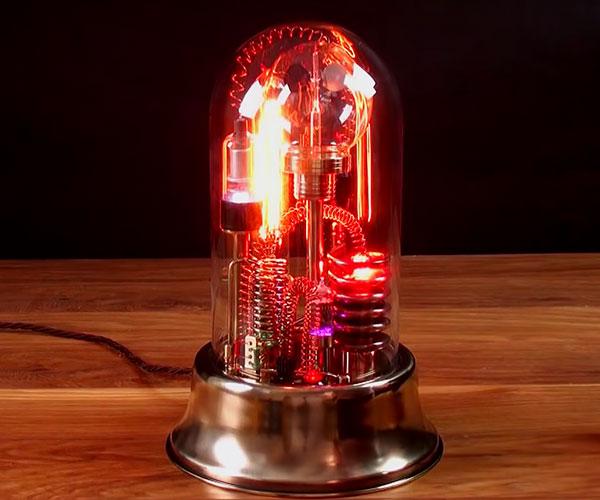 Making a Steampunk Lamp