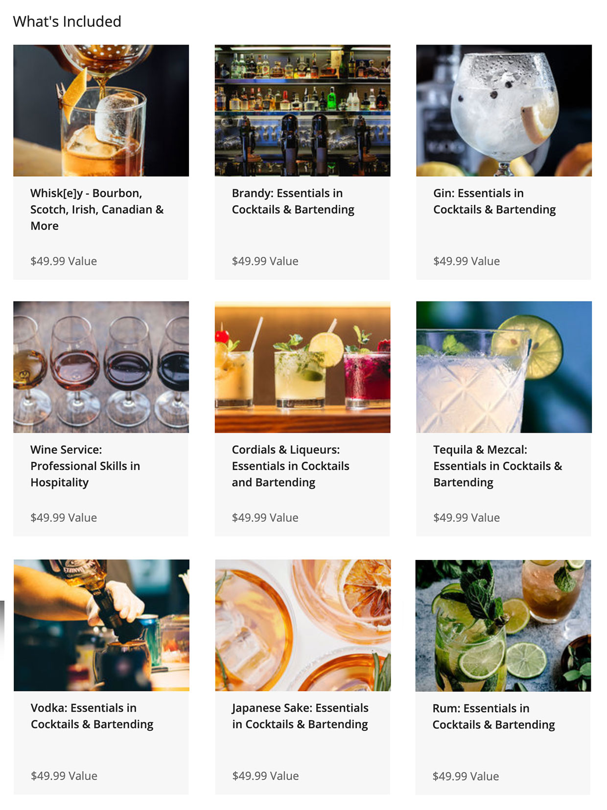 Mixology Training Bundle