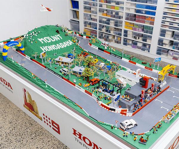 Mount Hondarama LEGO Race Track