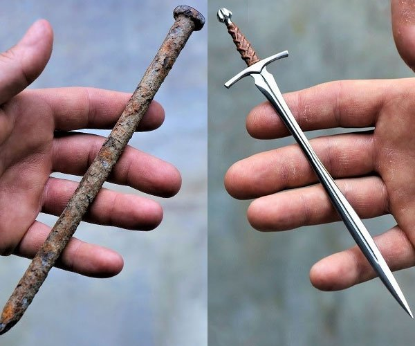 Nail into Sword