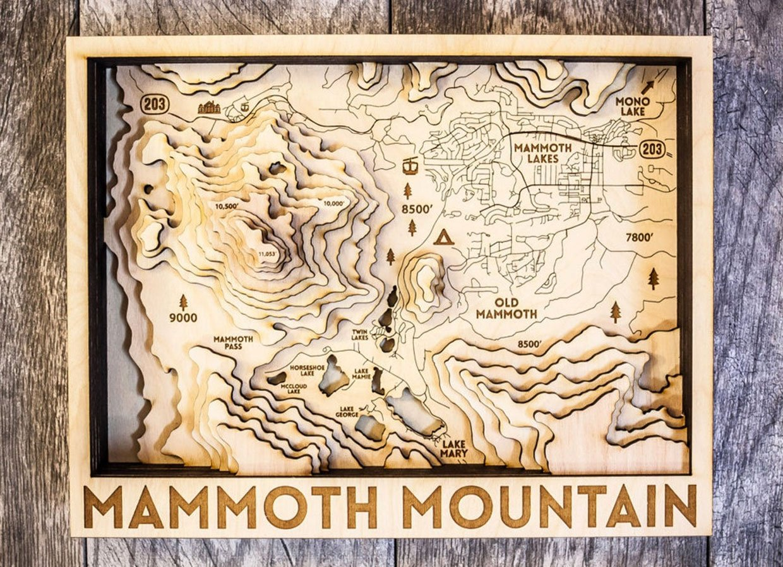 Origin 3D Wood Maps